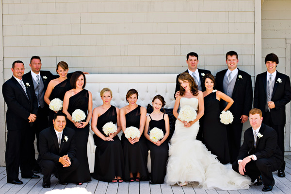 black-bridesmaid-dresses-with-one-shoulder