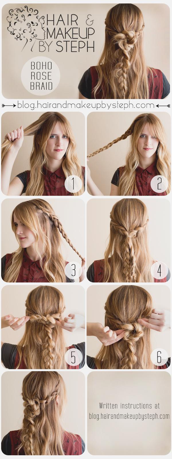 Tremendous How To Do Boho Braid Hairstyles Braids Short Hairstyles Gunalazisus
