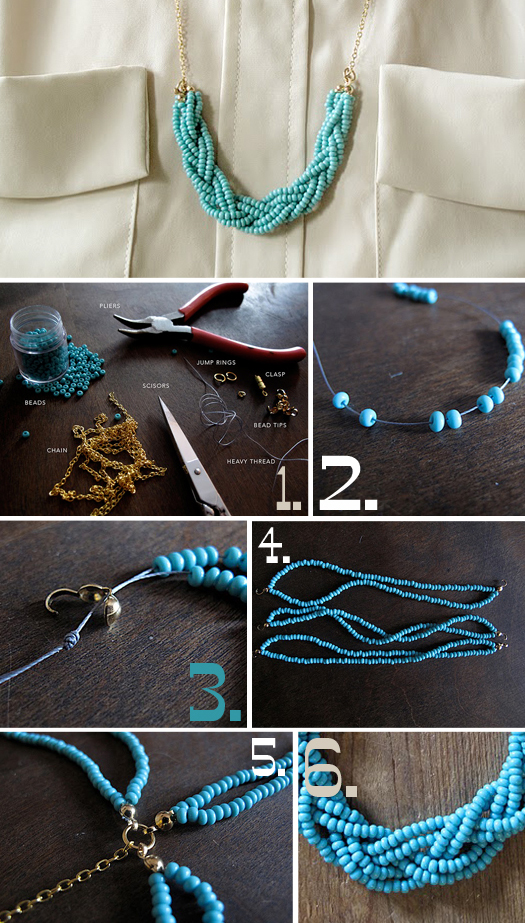 braided-bead-necklace-diy