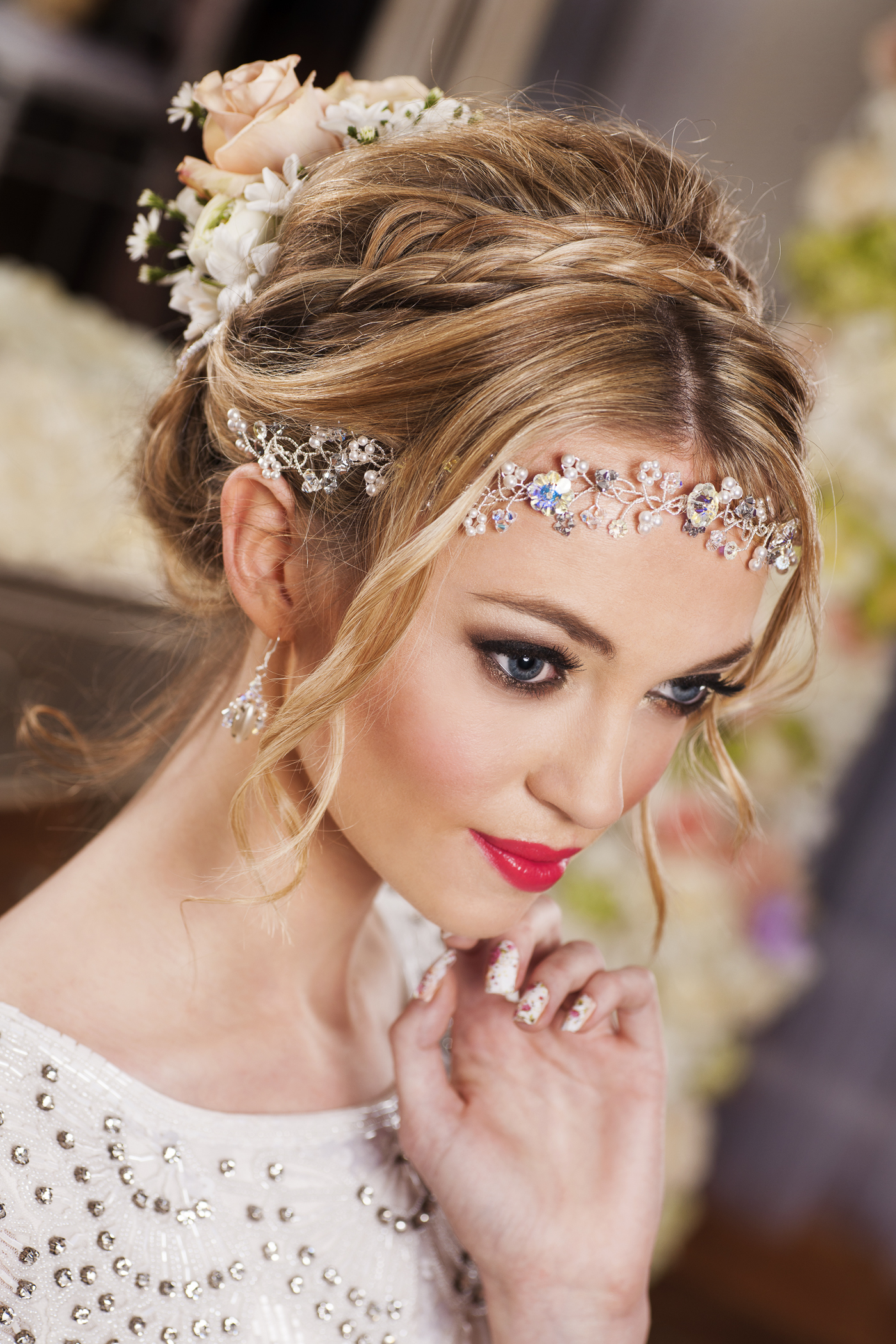 Glamorous And Modern Bridal Headpieces By Ann Mckavney