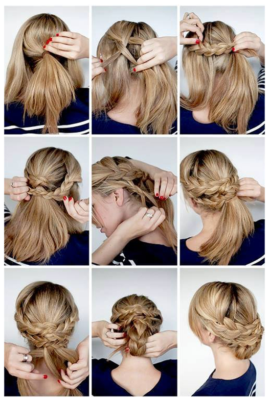 cute-and-simple-braided-ponytail-hairstyle-for-2014-by-clip-on-20-inch-cheap-brown-hair-extension