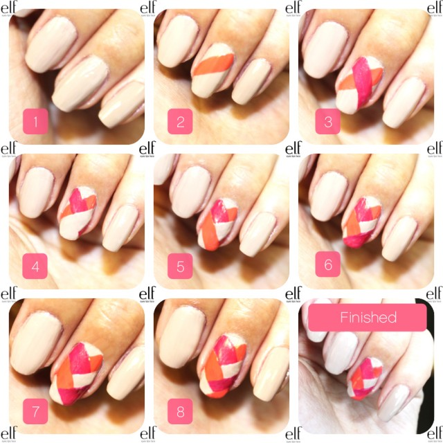 15 fun quick and easy nail tutorials to try this summer - Easy nail design ideas to do at home ...