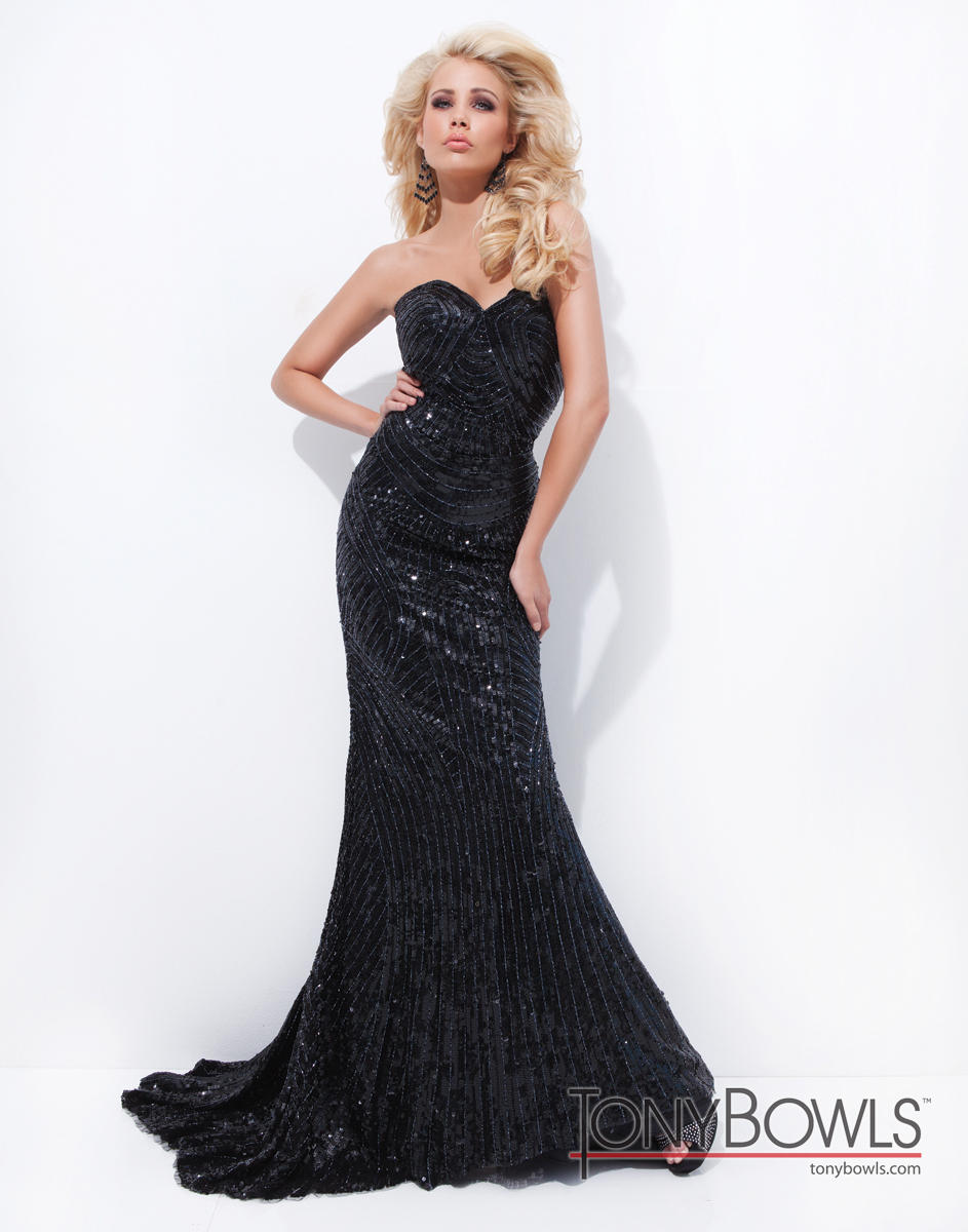 Extravagant Collection of Evening Dresses by Tony Bowls