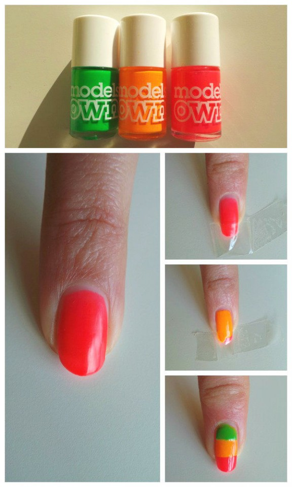 Cute Summer Nail Designs Easy Do Yourself Step By Step: Easy nail ...