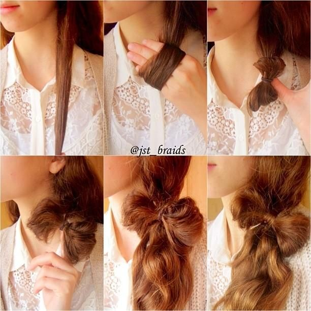 hairstyle_tutorial_Pony_with_a_Bow