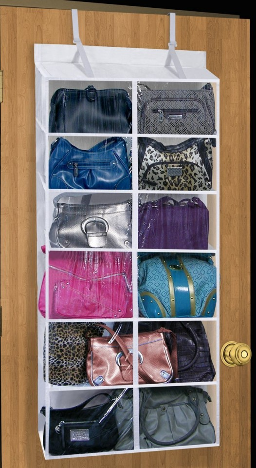 How to organise purses in a closet - Closet organizer for purses ...