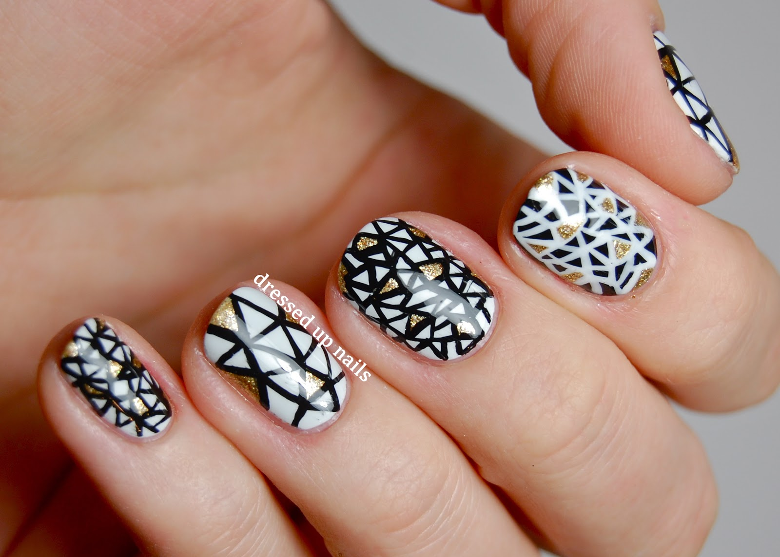 The 15 Best  Black And White Nail Arts
