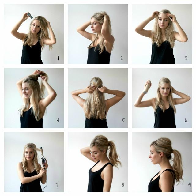 sixties ponytail tutorial