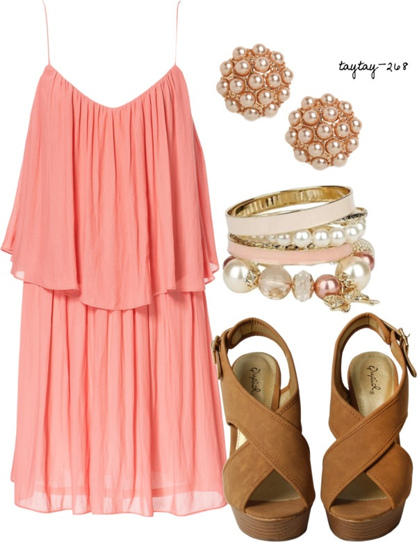 16 Cute Polyvore Combinations With Summer Dresses