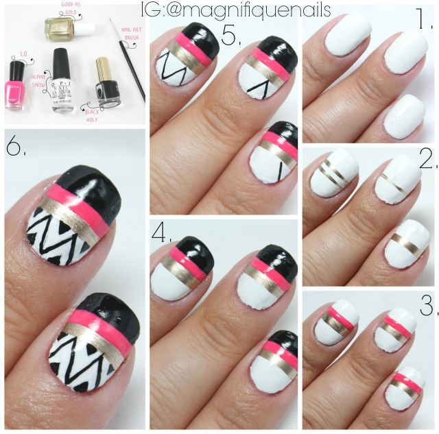 15 Fun Quick And Easy Nail Tutorials To Try This Summer