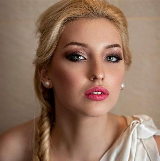 Gallery For > Wedding Makeup For Fair Skin And Green Eyes
