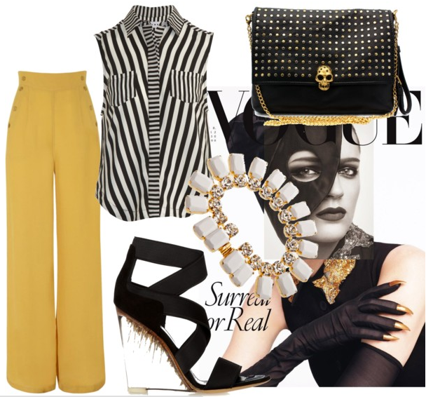 How to palazzo wear pants polyvore best photo