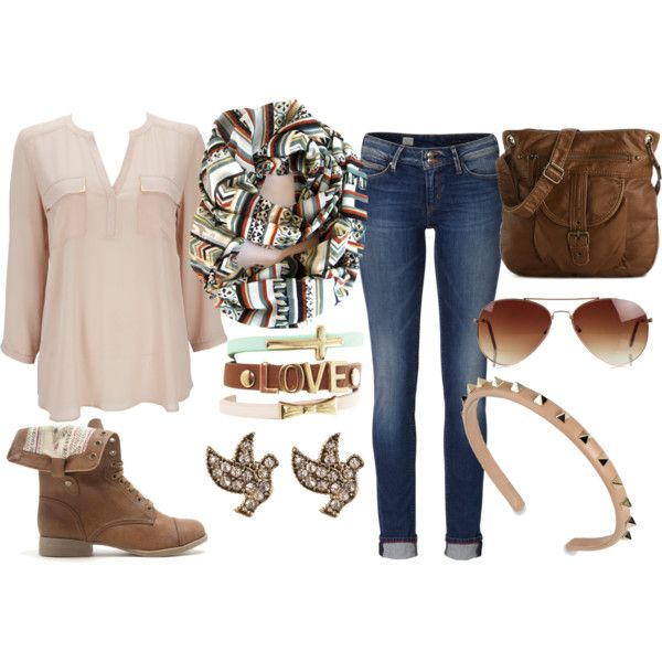 15 Warm And Cozy Polyvore Combinations For Early Fall