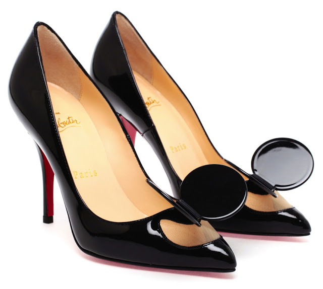 Christian Louboutin Madame Mouse patent leather pumps 1
