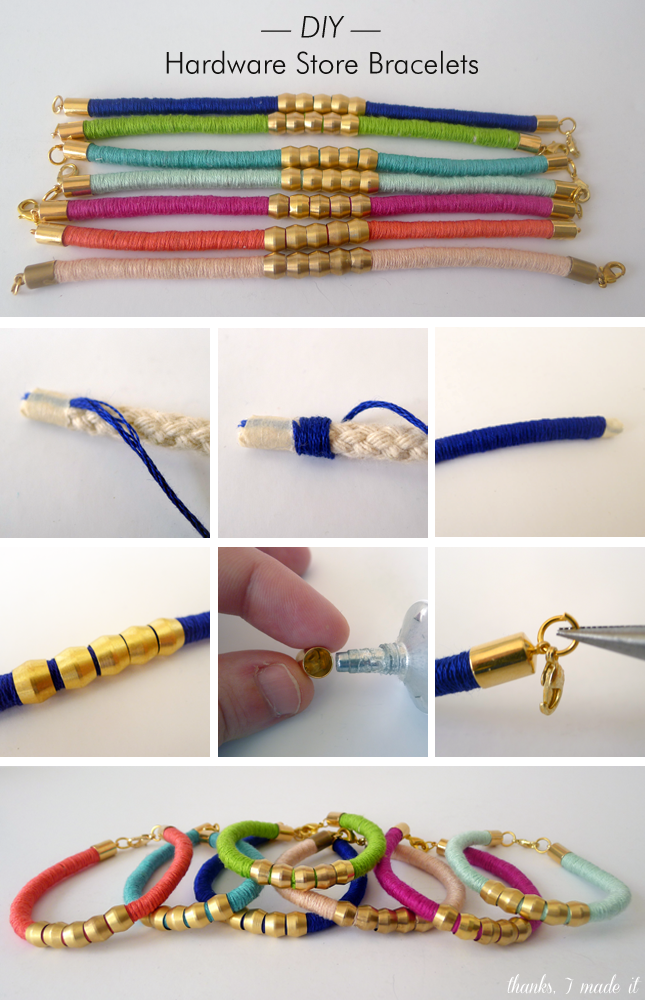 16 FANTASTIC AND COLORFUL DIY BRACELETS