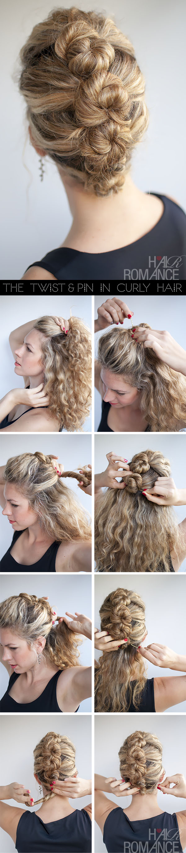 Hair-Romance-hairstyle-tutorial-The-French-Twist-and-Pin-in-curly-hair