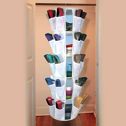 Spinning-close-shoe-organizer