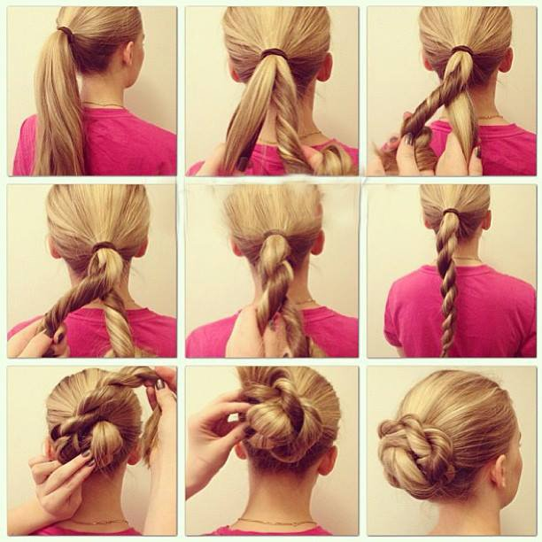 15 Super Easy Hairstyle Tutorials To Make On Your Own