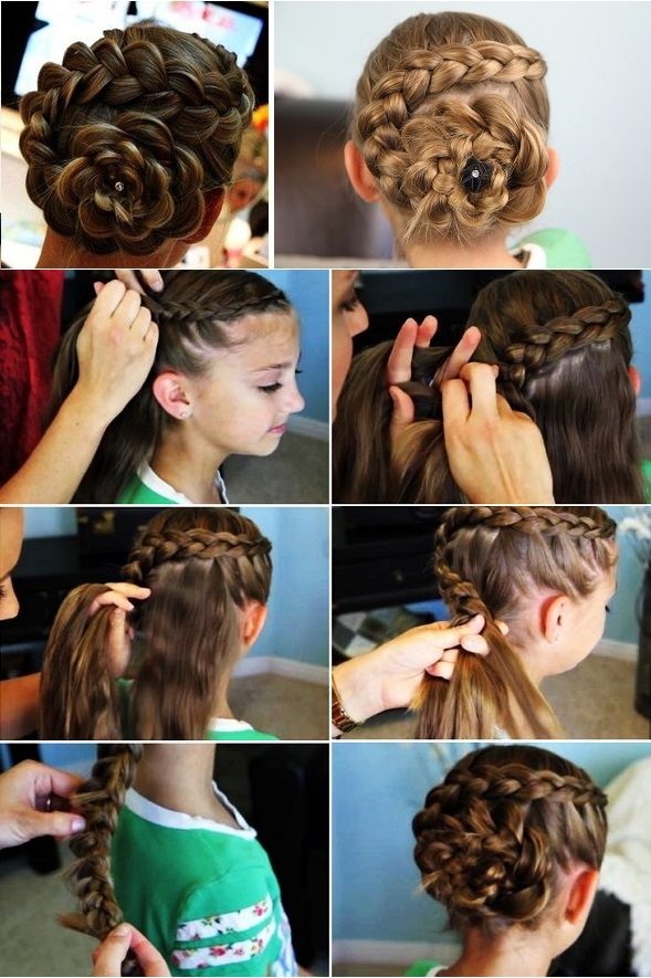 Step-by-Step Hair Tutorials For Moms and Daughters
