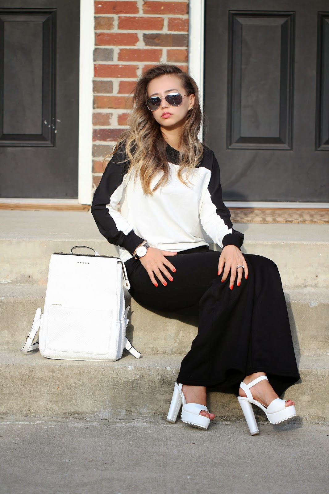 Make a Statement This Fall with Black and White Clothes