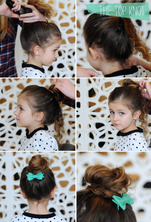 Step By Step Hair Tutorials For Moms And Daughters