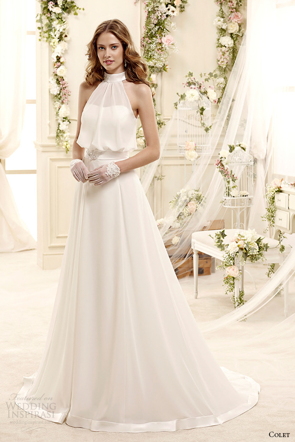 Colet Bridal 2017 Style 37 Coab15245iv Illusion Sheer