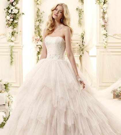 colet-bridal-2015-style-50-coab15282ch-strapless-neckline-handkerchief-tiered-ball-gown-wedding-dress