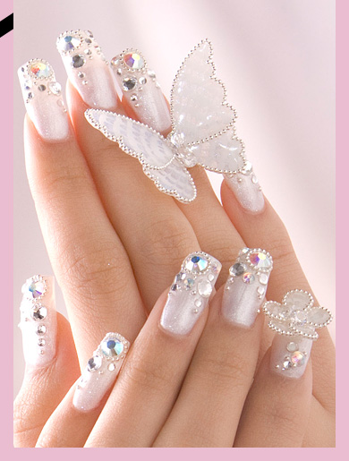 gorgeous-wedding-nail-art-ideas