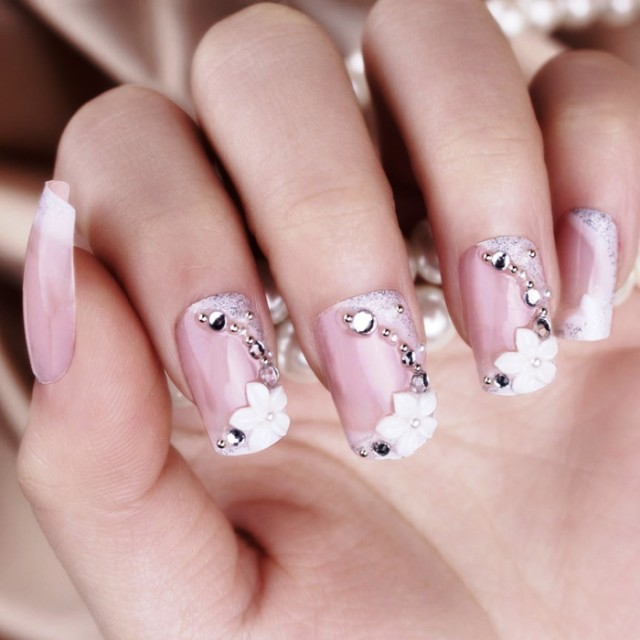 inspiring-wedding-nail-art-designs