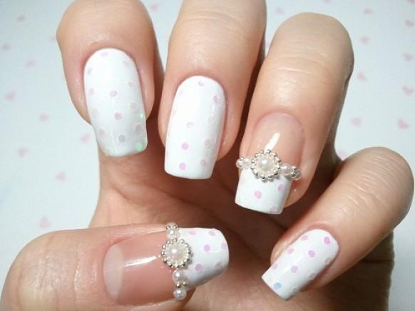 The best royal wedding nail art designs for 2014 - Decoracion unas para boda ...