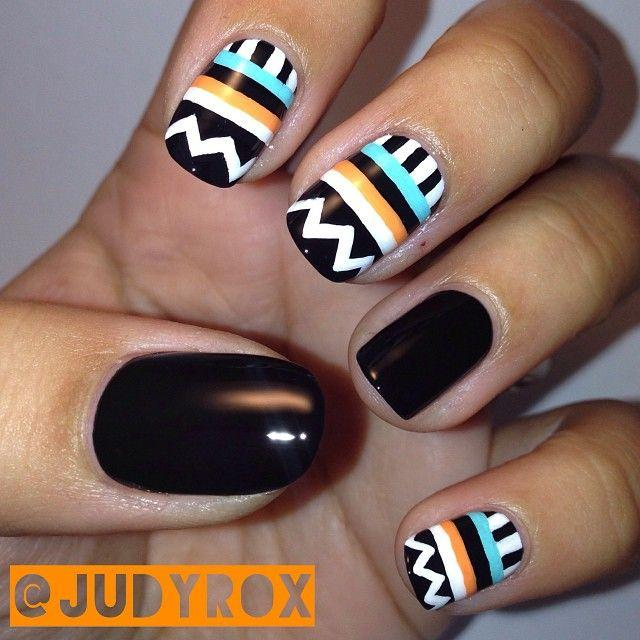 Image via trends-style.com - 16 Insanely Pretty Tribal Nail Designs