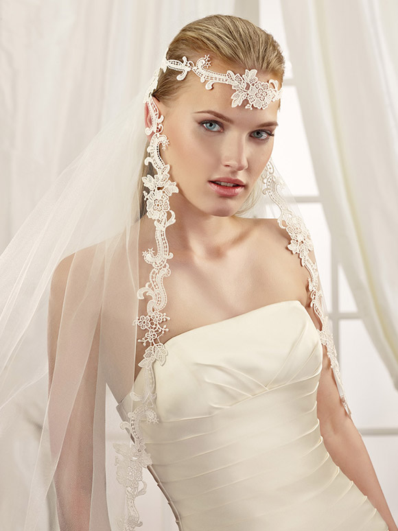 AMAZING VEILS FOR UNFORGETTABLE BRIDAL LOOK