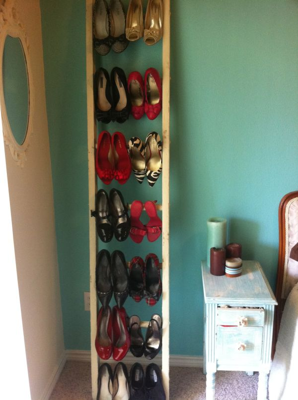 Fantastic shoe storage ideas Stylish shoe rack