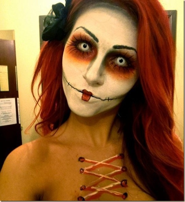 15 Scary And Unique Halloween Makeup Ideas - Cool Makeup Halloween Ideas