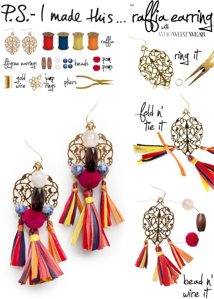 14 Fabulous And Fancy DIY Earrings Ideas