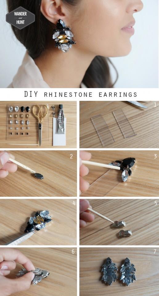 DIY_wander_and_hunt_rhinestone_earrings