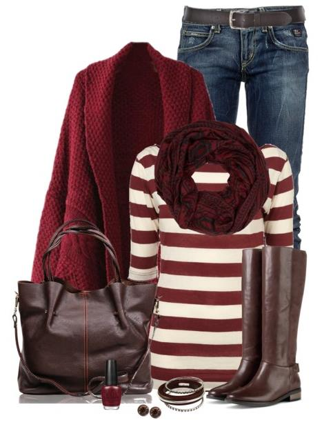 Fall-Outfits-With-Brown-Riding-Boots-Polyvore