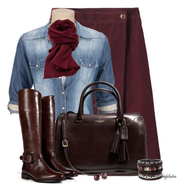 Fall-outfit-with-skirt