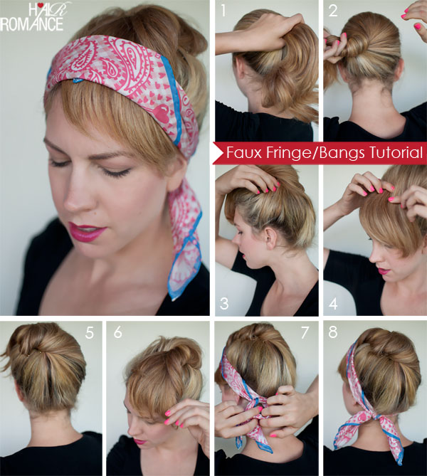 THE 5 TOP BEST FAUX HAIR TUTORIALS