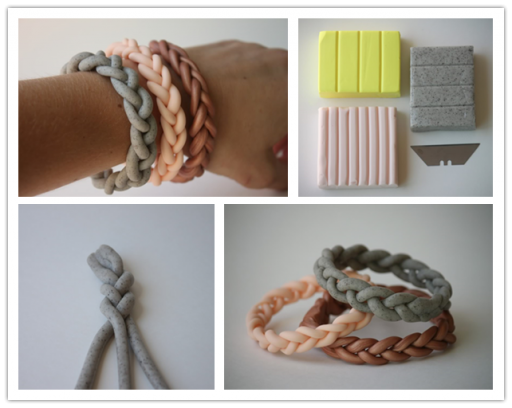How-to-make-DIY-polymer-clay-braided-bracelet-step-by-step-tutorial-instructions-512x408