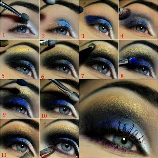 Night-Blue-Eye-Makeup-Tutorial