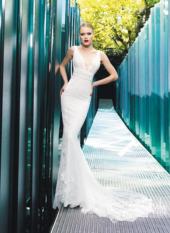 Yolan Cris Vintage Bridal Couture 2015