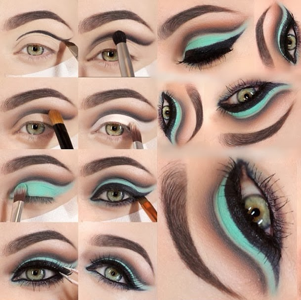 15 Fascinating Makeup Tutorials For The Blue-Eyed Fashionista