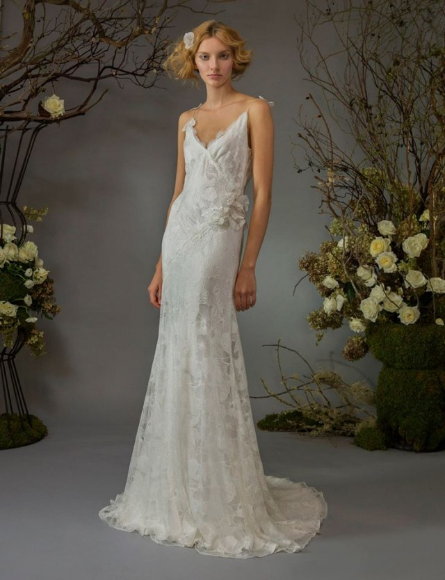 Timeless Wedding Gowns by Elizabeth Fillmore Fall 2014 Collection