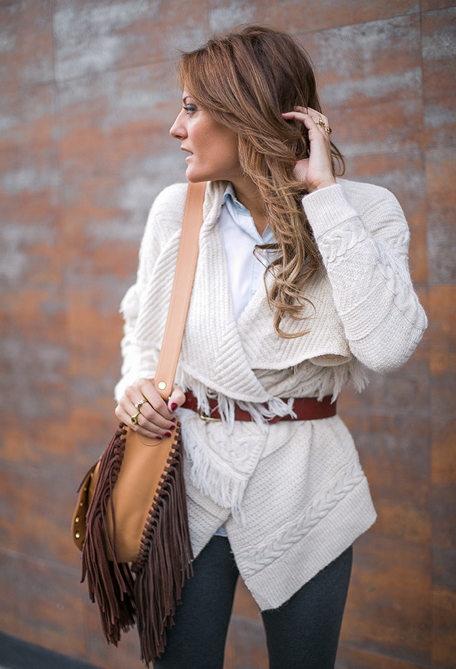 15 Stylish And Warm Combinations With Ponchos For The Fall