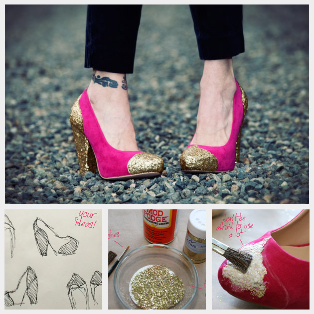 11 Creative DIY Shoes Ideas That Every Fashionista Should See