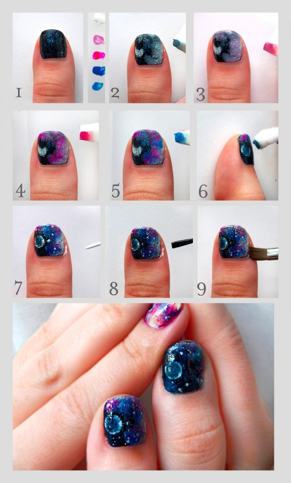 Nail Art Pen Designs Step By Step – ledufa.com