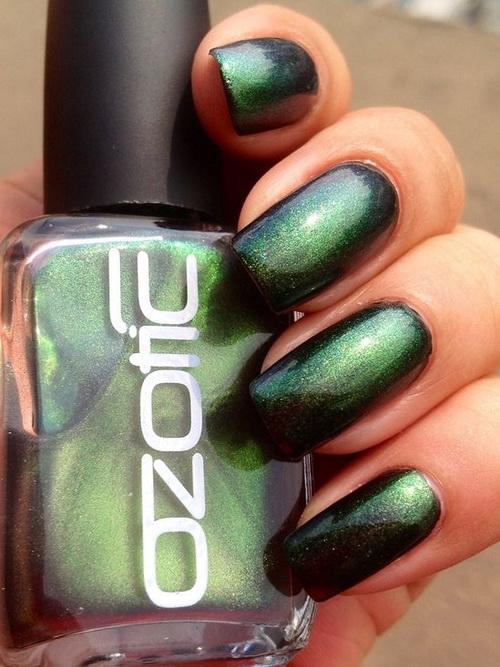 Green Nails 14 Royal Emerald Nail Designs Fashion Diva Design