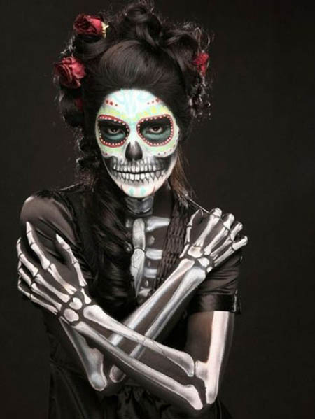 25 Amazingly Scary Halloween Makeup Ideas for Every Fashionista