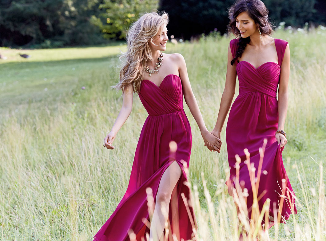 Hot Trends for Dresses for Bridesmaids